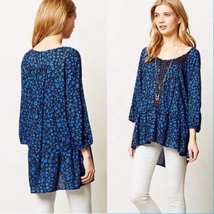 Anthropologie Tops - Anthropologie HD in Paris Resica Tunic In Blue.